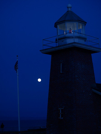 Lighthouse Moon