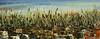 "Shoreline Sensation 002 Fall 2010<br /> Size: 24"" x 59.5""<br /> Meduium: Acrylic Latex<br /> $4,000.00"