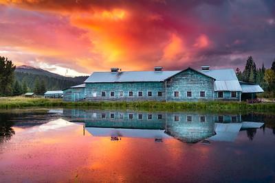 Sunset at Elk River