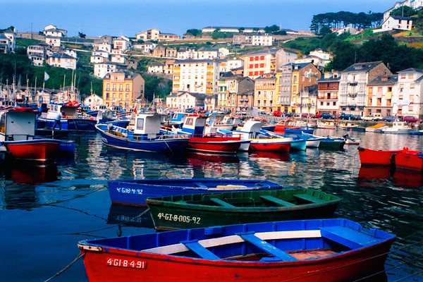 Fishing Port - Luarca, Asturias, Spain
