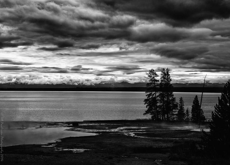 Lake Yellowstone at Yellowstone National Park