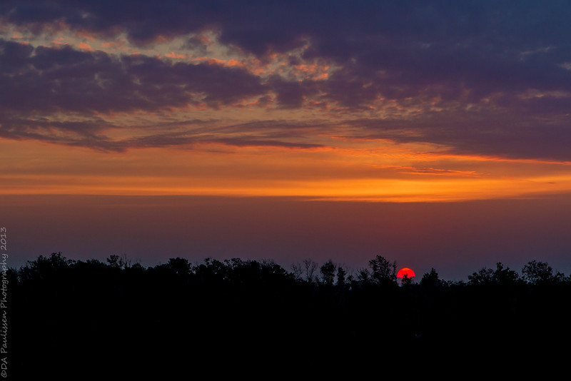 Sunrise Over Dickinson