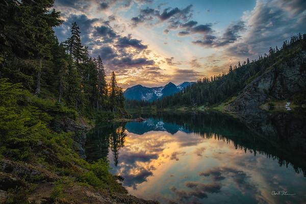 Upper Watson Lake Sunrise