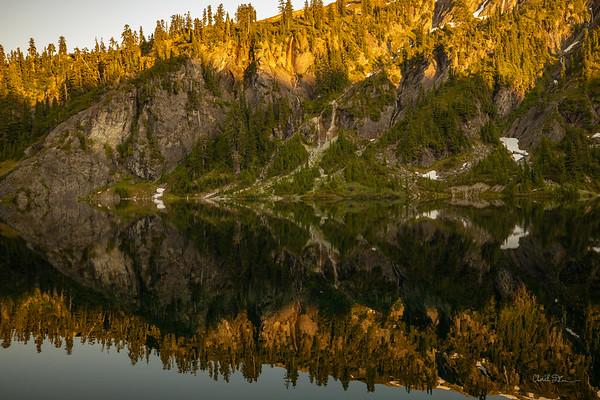 Reflections of Upper Watson Lake