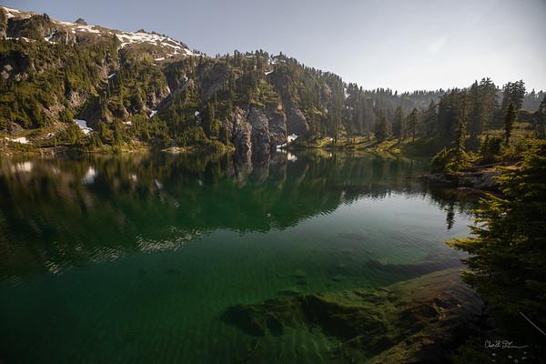 Upper Watson lake Wide