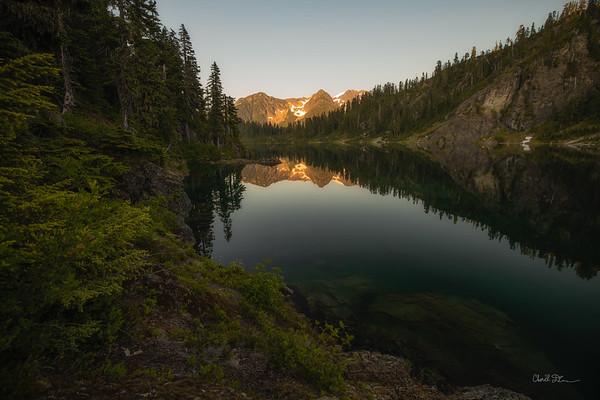 Upper Watson Lake Sunset