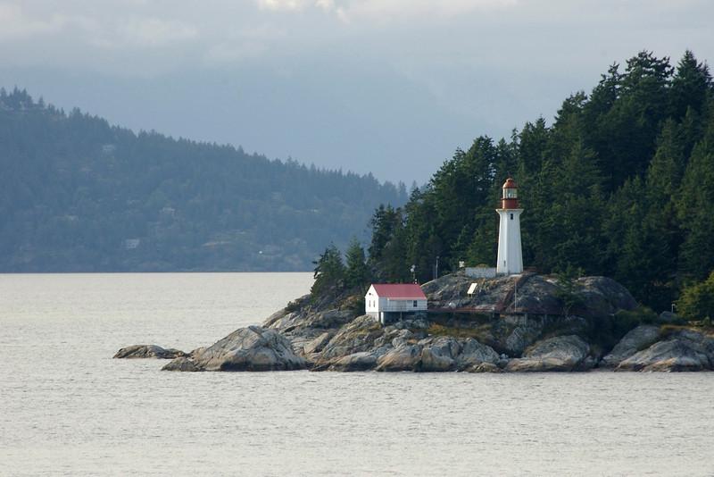 A lighthouse near Vancouver. Lighthouse I