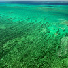 Over the Great Barrier Reef
