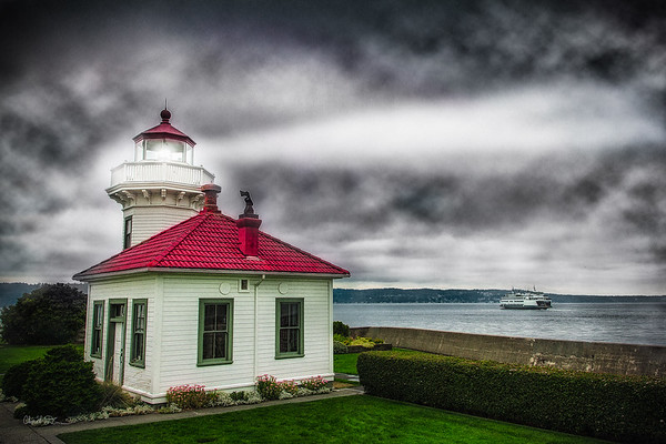 Mukilteo Lighthouse and Ferry