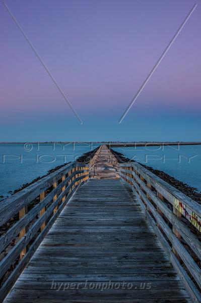 Plymouth Jetty/Breakwater Bridge