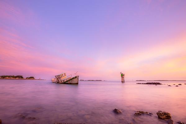 Ke'ehi Sunken Boat