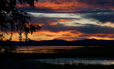 Sunset over the Wetlands - Montana