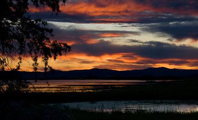 Sunset over the Wetlands - Montana