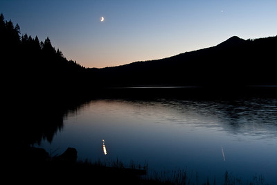 The First Star of the Night - Dworshak Reservoir, Idaho