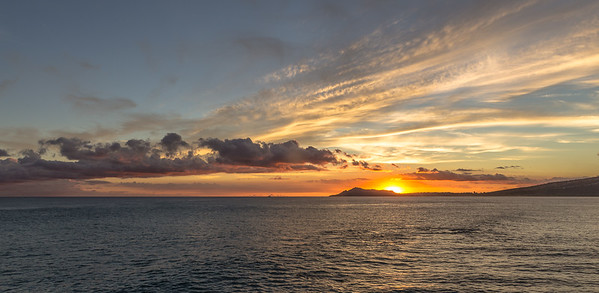 Sunset Over Diamond Head 2