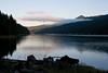 Morning Fog on the Reservoir - Dworshak Reservoir, Idaho