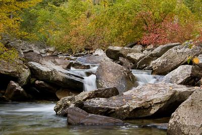 Fall comes to Kootenai Creek - Montana