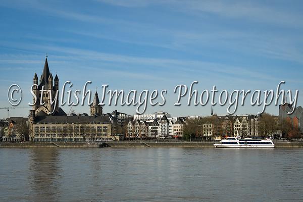 Cologne across the Rhein
