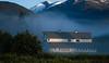 Barn in the Morning Fog - Montana