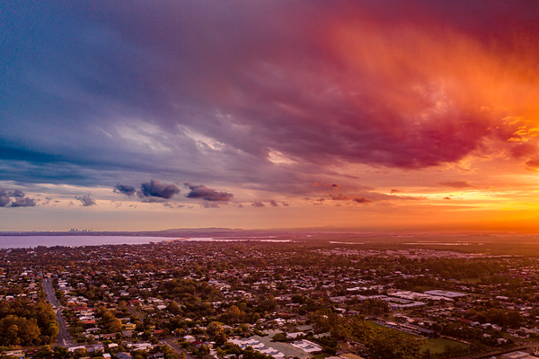 Redcliffe Peninsula Sunset - Mavic 2 Pro-13