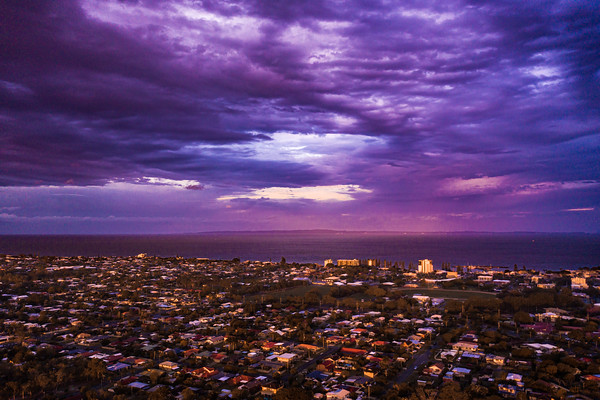 Redcliffe Peninsula Sunset - Mavic 2 Pro-12