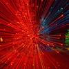 Christmas Lights, starburst