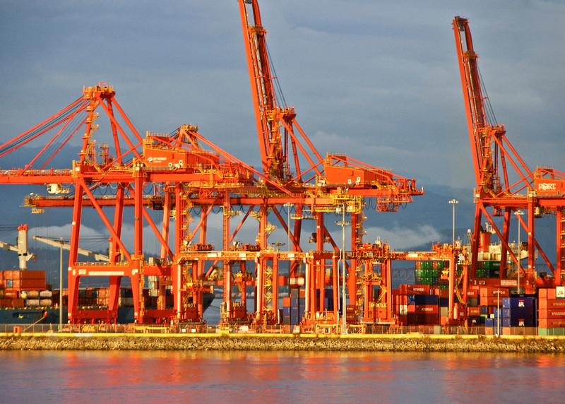 Docks at Sunset 3/100