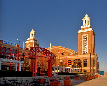 Exhibition Hall at Navy Pier, Chicago IL.