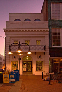restored building in the Historic Downtown Mall, Charlottesville VA.