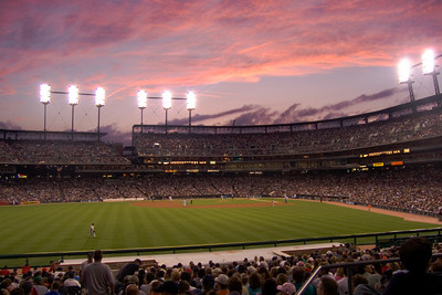 Comerica Park, home of Major League Baseball's Detroit Tigers