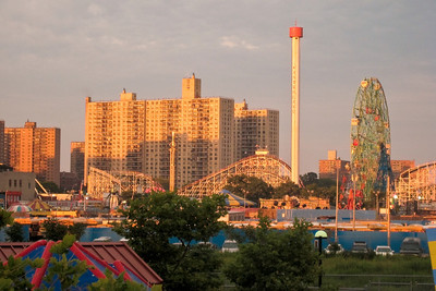 Coney Island Amusement Park, Brooklyn NY