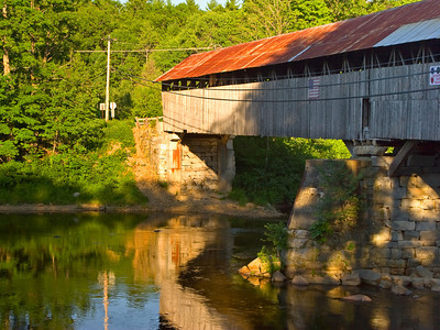 Bridge 41 over the Pemigewasset River, Thornton NH