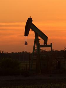 Oil Derrick  in Southwestern Ontario