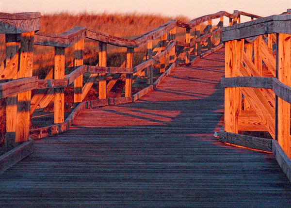 Boardwalk at Dawn