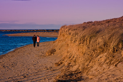 Plum Island Beach, at the mouth of the Merrimack River in Newburyport MA
