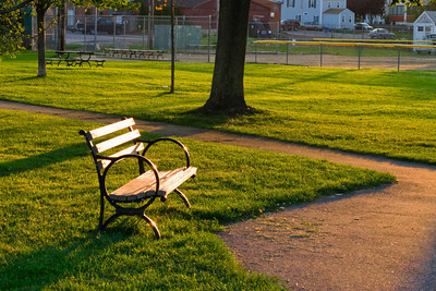 Park Bench, Cashman Park, Newburyport MA