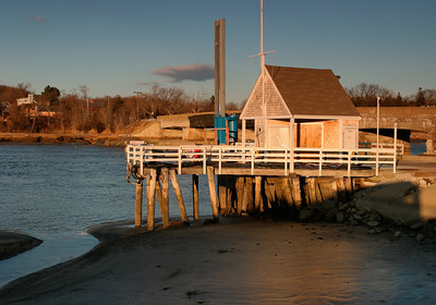 Parker River Fishing Hut, Newbury MA