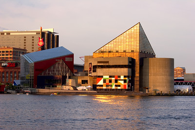 The National Aquarium, Inner Harbor area of Baltimore, Maryland