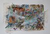 """Wave 2: Enlist""  [view 1]<br /> <br /> mixed media; 22"" x 30""<br /> $2600"