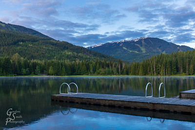 Lost Lake Sunrise and Blackcomb