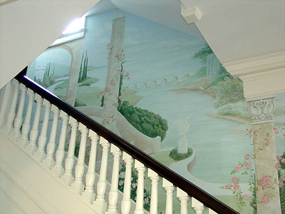 view up stairs