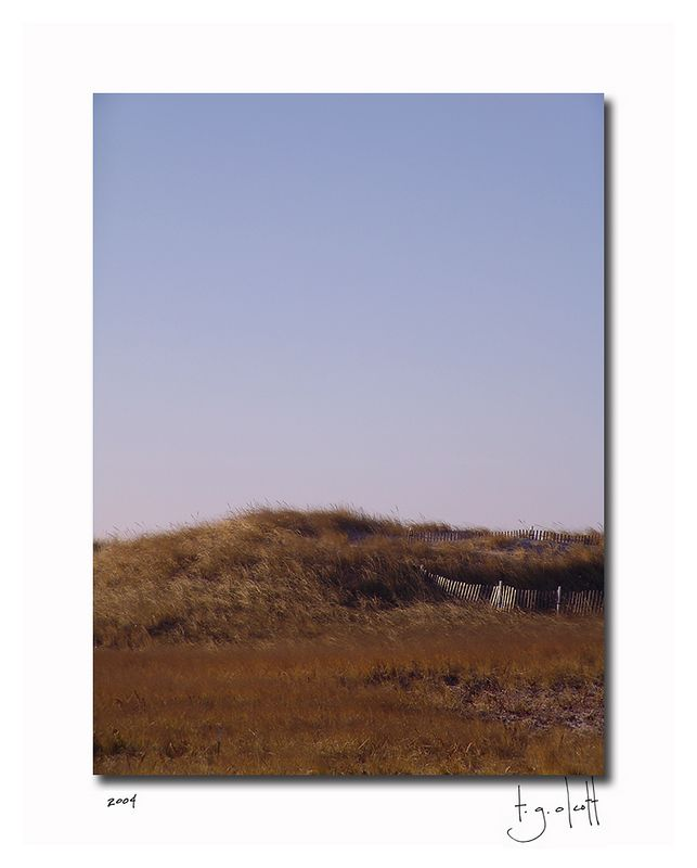 Madaket Dunes, December 2004