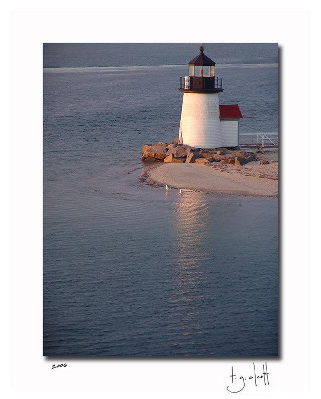 Brant Point Sunrise, April 2006