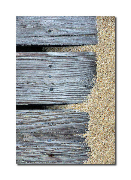 Boardwalk Detail, Nantucket