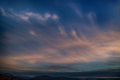 Sunset, Roseburg