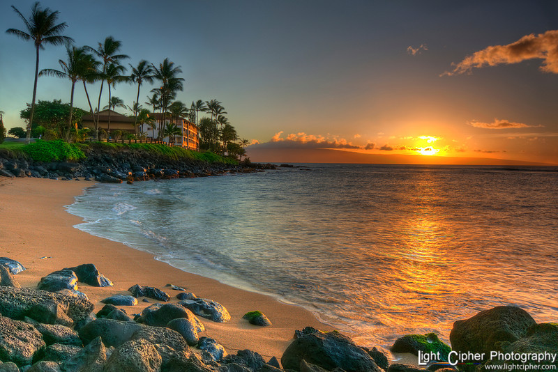 Maui Sunset (HDR)