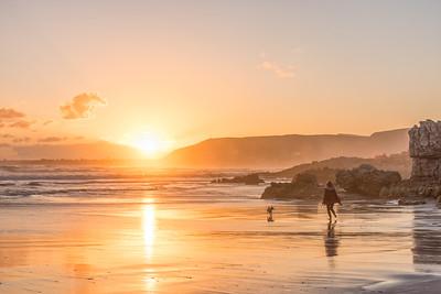 Sunset at Walker Bay, Hermanus
