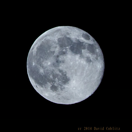 Super Moon  from St. Louis, MO July 12, 2014