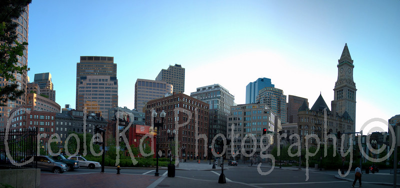 Boston Harbor Area