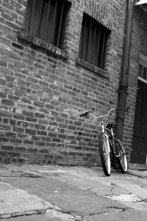 French Quarter Bike (Black and White) 2
